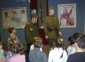 3.экскурсия в музей боевой славы февраль 2014 г.
